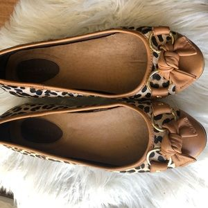 SPERRY Top-Sider Kendall Leopard Pony Flats